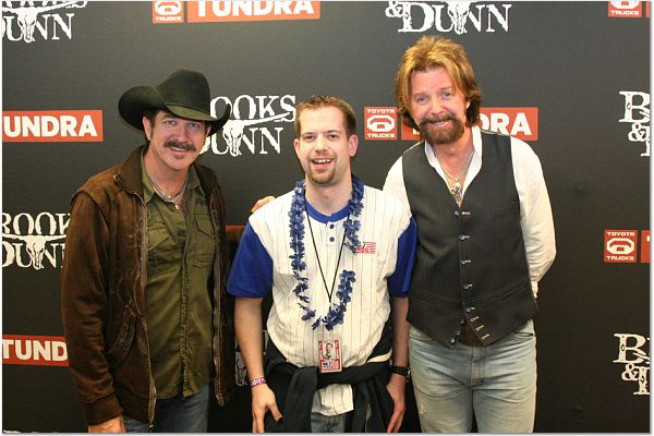 """I am the """"and"""" in Brooks AND Dunn."""