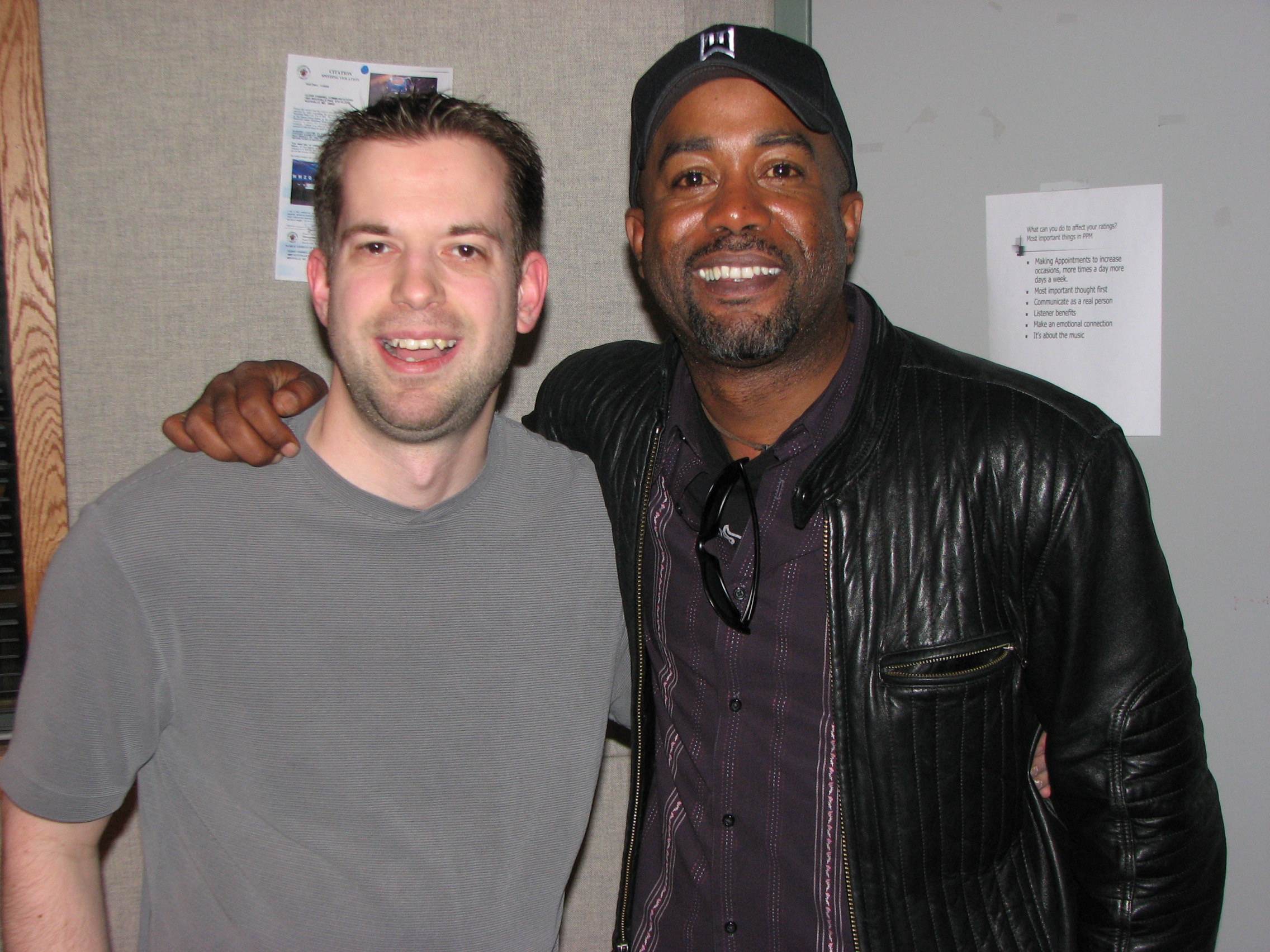 Who'da thunk Darius Rucker would become a HUGE country star?