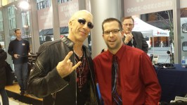 Why was I wearing a freakin' TIE when I met Dee Snider?!?