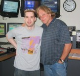 Eddie Money dropped by totally unannounced one morning. he just knocked on the door!