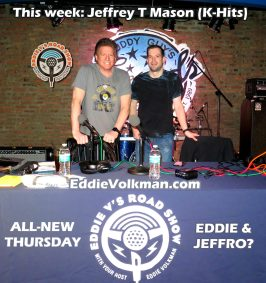 What a blast to be Eddie V's co-host on his podcast!