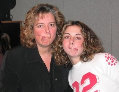 Jess & Bari (possessed?)