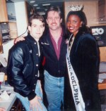 Mummers Day Parade was a blast! Here's a VERY youthful me, Joe Mamma, and Miss Philly.