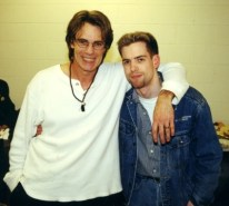I got to meet 80's legend Rick Springfield!
