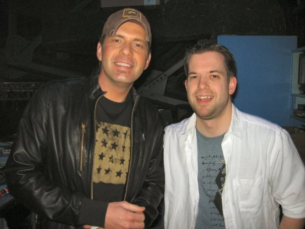 Rodney Atkins played 930 Club and we had a great time before the show.