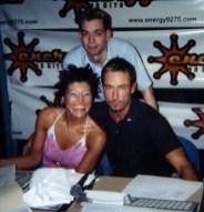 Jeffro, Sarina Paris & Shark