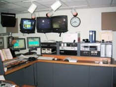 Another view of the studio...