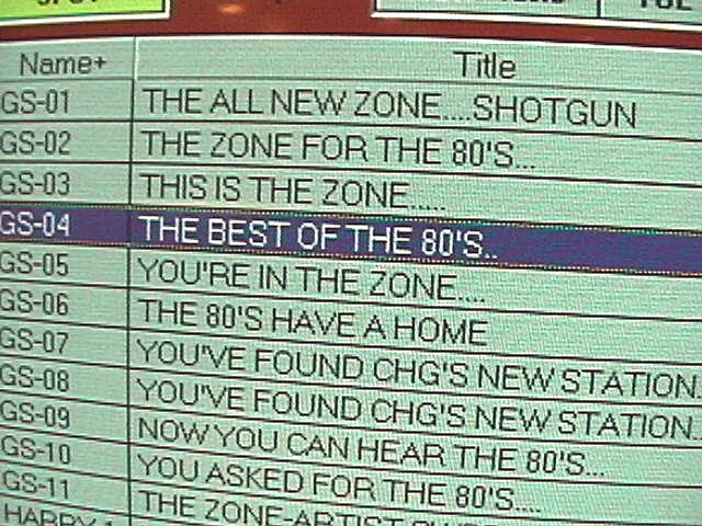 Yeah, we played the 80s...and a lot of OTHER stuff, too. (Mistake!)