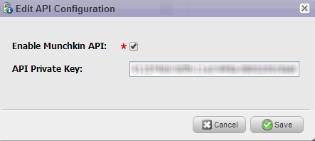 Enable Munchkin API