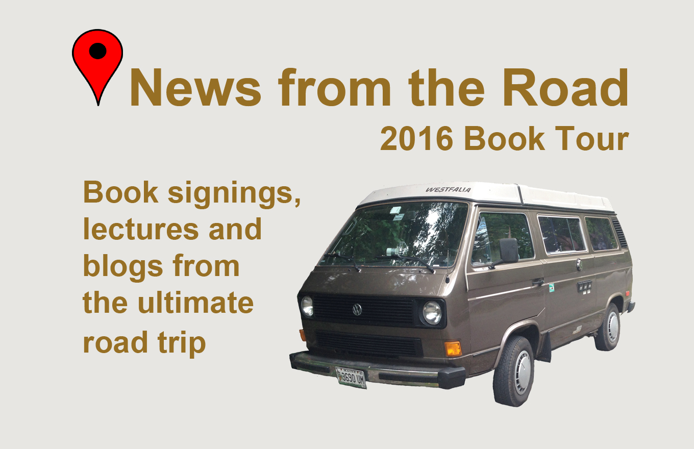Appalachian Odyssey Book Tour Schedule of events