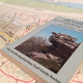 Photo of AT Map and guide