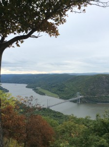 Bear Mountain Bridge over the Hudson River, New York