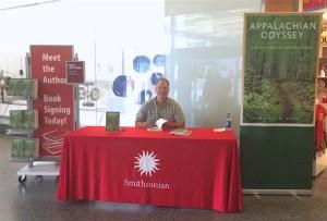 Jeffrey Ryan book signing at Smithsonian Institution