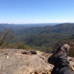 Photo from Preacher Mountain, Georgia. © 2017 www.JeffRyanAuthor.com