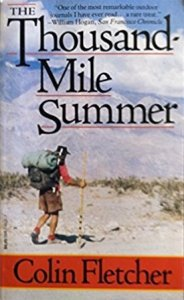 Photo of the Thousand Mile Summer by Colin Fletcher