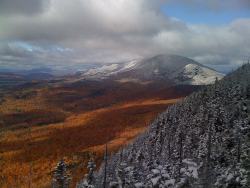 Photo of Bigelow Range, Maine ©2017, www.JeffRyanAuthor.com