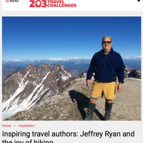 Nice interview with 203 Travel Challenges