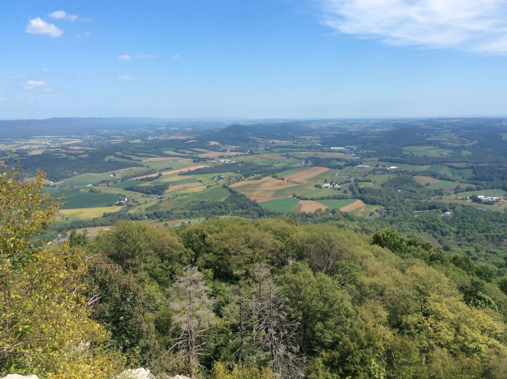 Photo from The Pinnacle, along the Appalachian Trail in Pennsylvania. ©2019, www.JeffRyanAuthor.com