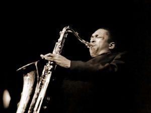 Patron saint No. 4: John Coltrane.