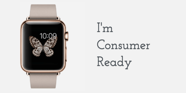 apple watch consumer ready