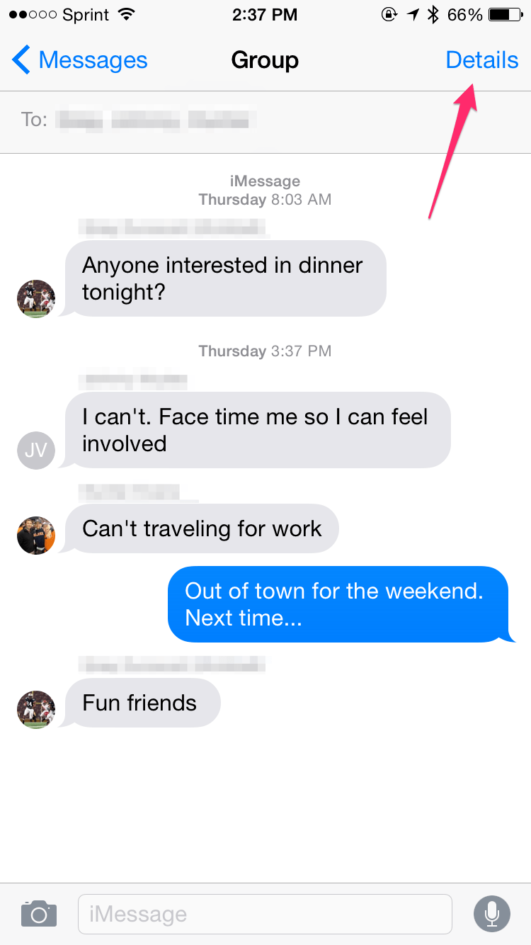 Muting iOS Group Text & SMS Notifications
