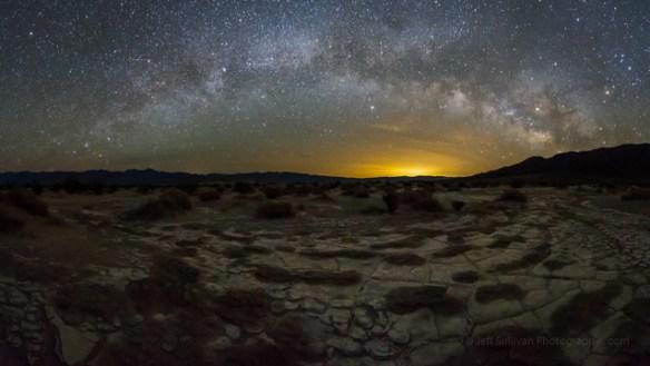 Milky Way panorama photography