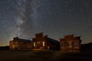 Milky Way photo workshop in Bodie.