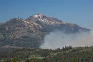 Washington Fire near Silver Peak