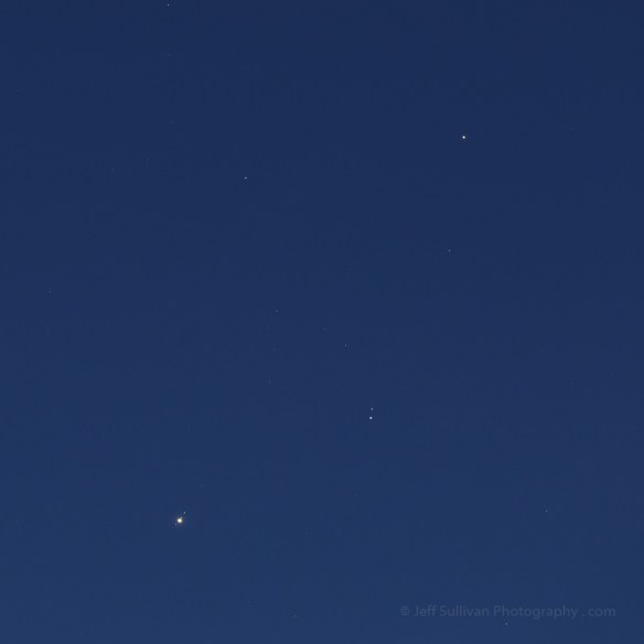 Jupiter Mars Conjunction January 7