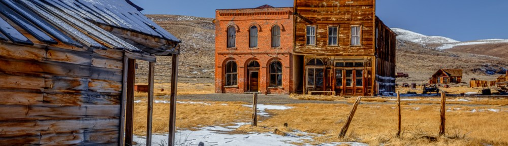 winter access to Bodie State Historic Park