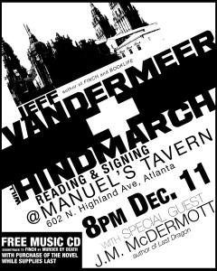 Manuel's Tavern Event Poster