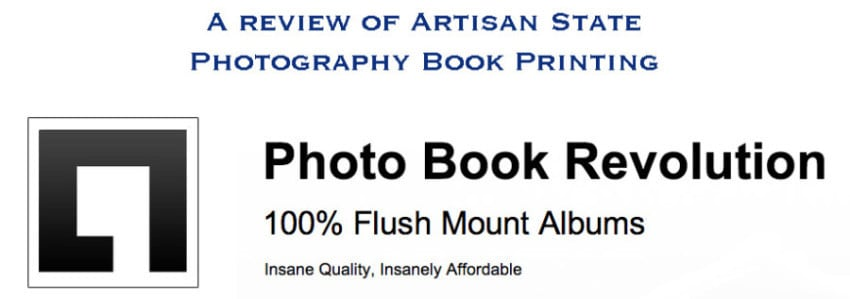 Photography Book Printing Review – Artisan State