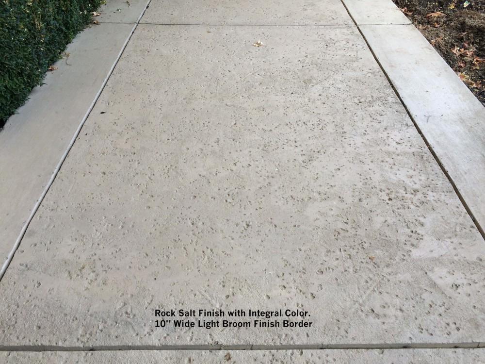 Rock Salt Concrete