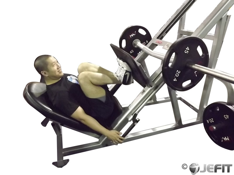 Leg Press With Narrow Stance Exercise Database Jefit