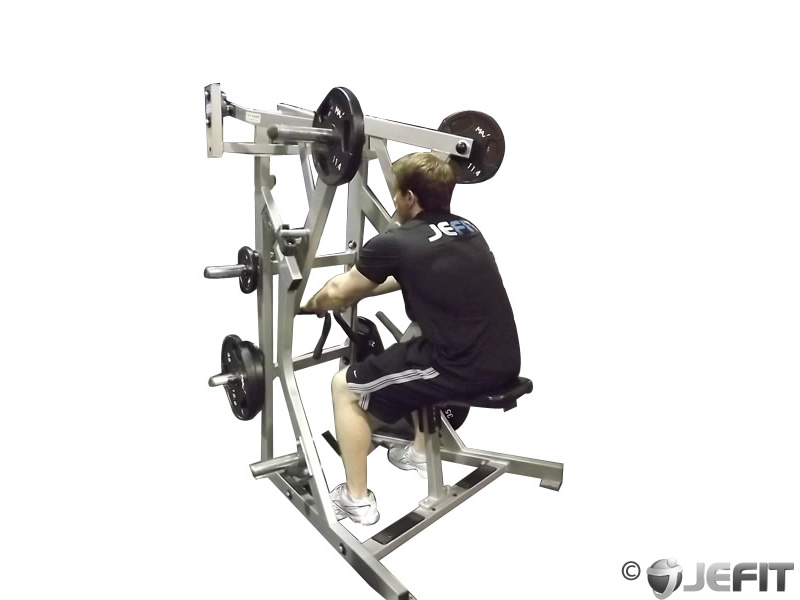 Leverage Machine Iso Row Exercise Database Jefit