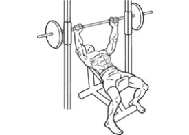 Smith Machine Incline Bench Press