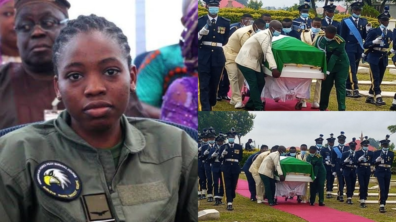Body of Late Tolulope Arotile Laid To Rest in Abuja