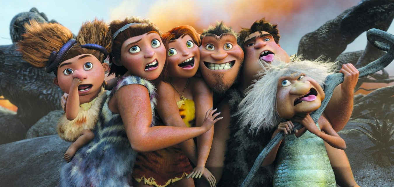 Movie Trailer: The Croods ( A NEW AGE)
