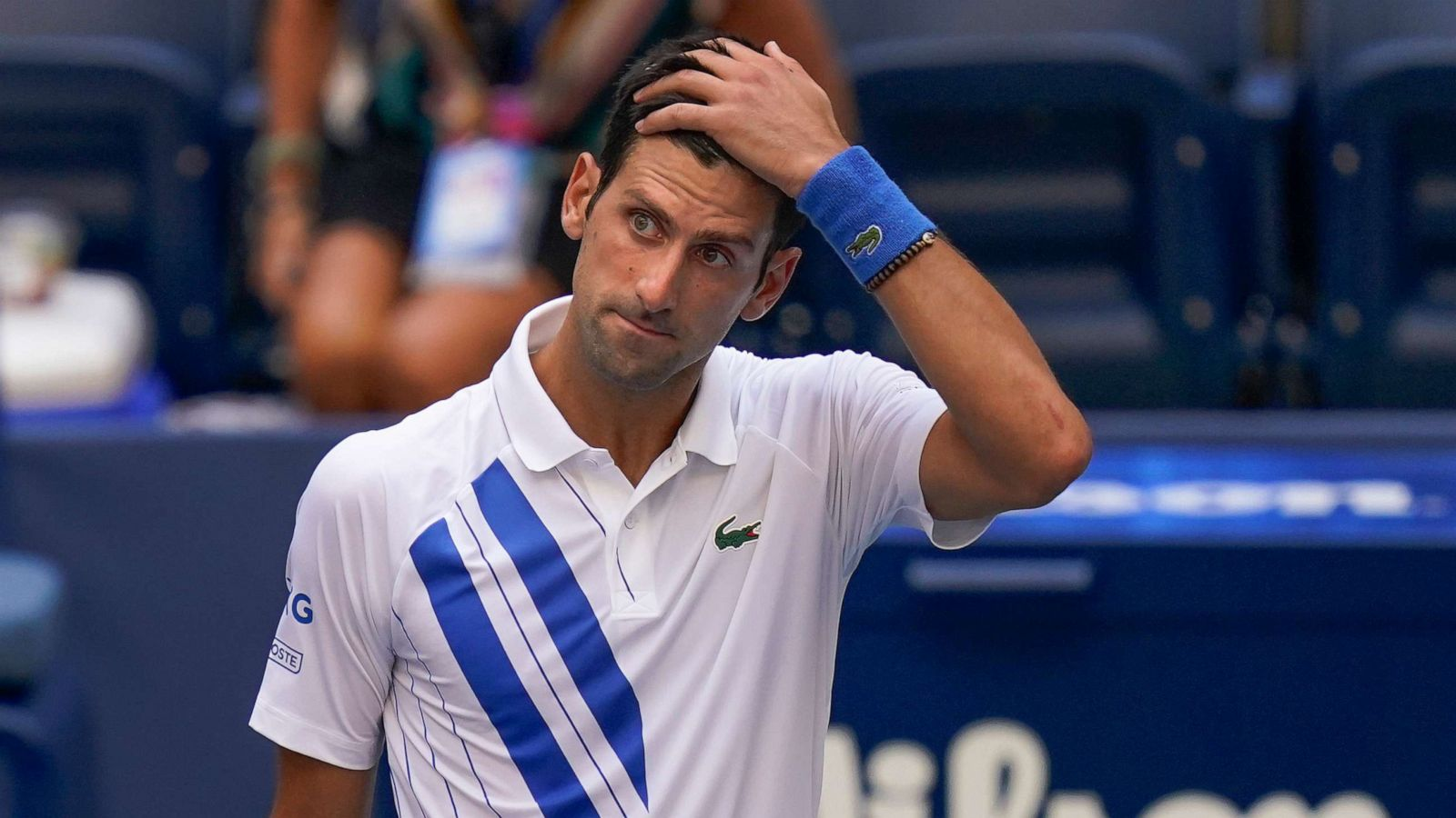 Oh Well! Djokovic Disqaulified From US Open For Hitting An Umpire