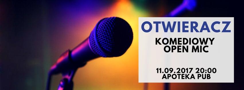 Otwieracz – Open Mic, który zwiedził Kraków