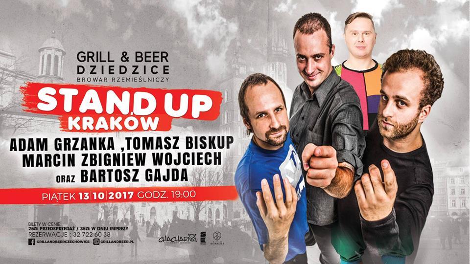 Stand up Czechowice Dziedzice, Poznań i Nowy Sącz