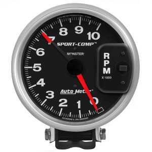 Auto Meter 3900: SportComp PedestalMount Tachometer 5