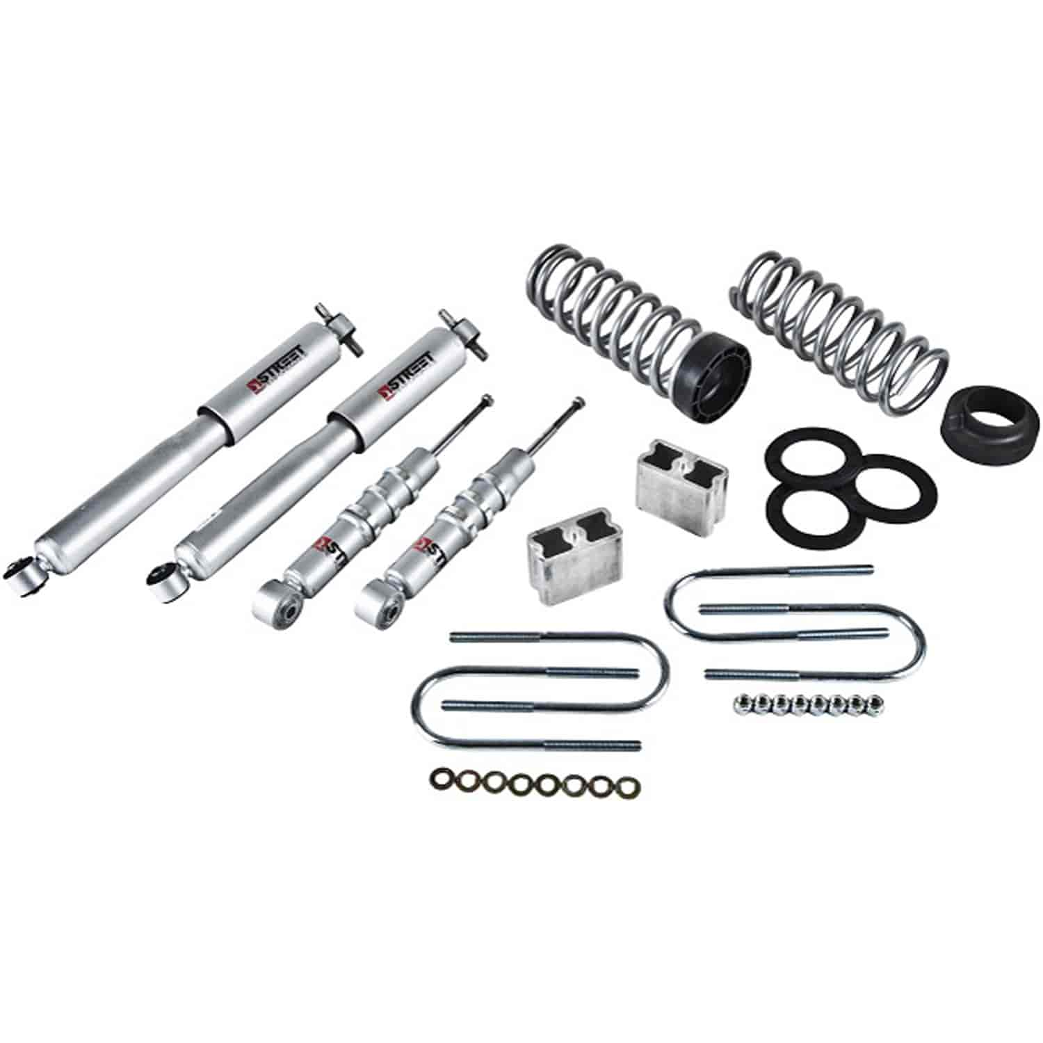 Belltech 602sp Complete Lowering Kit For Chevy