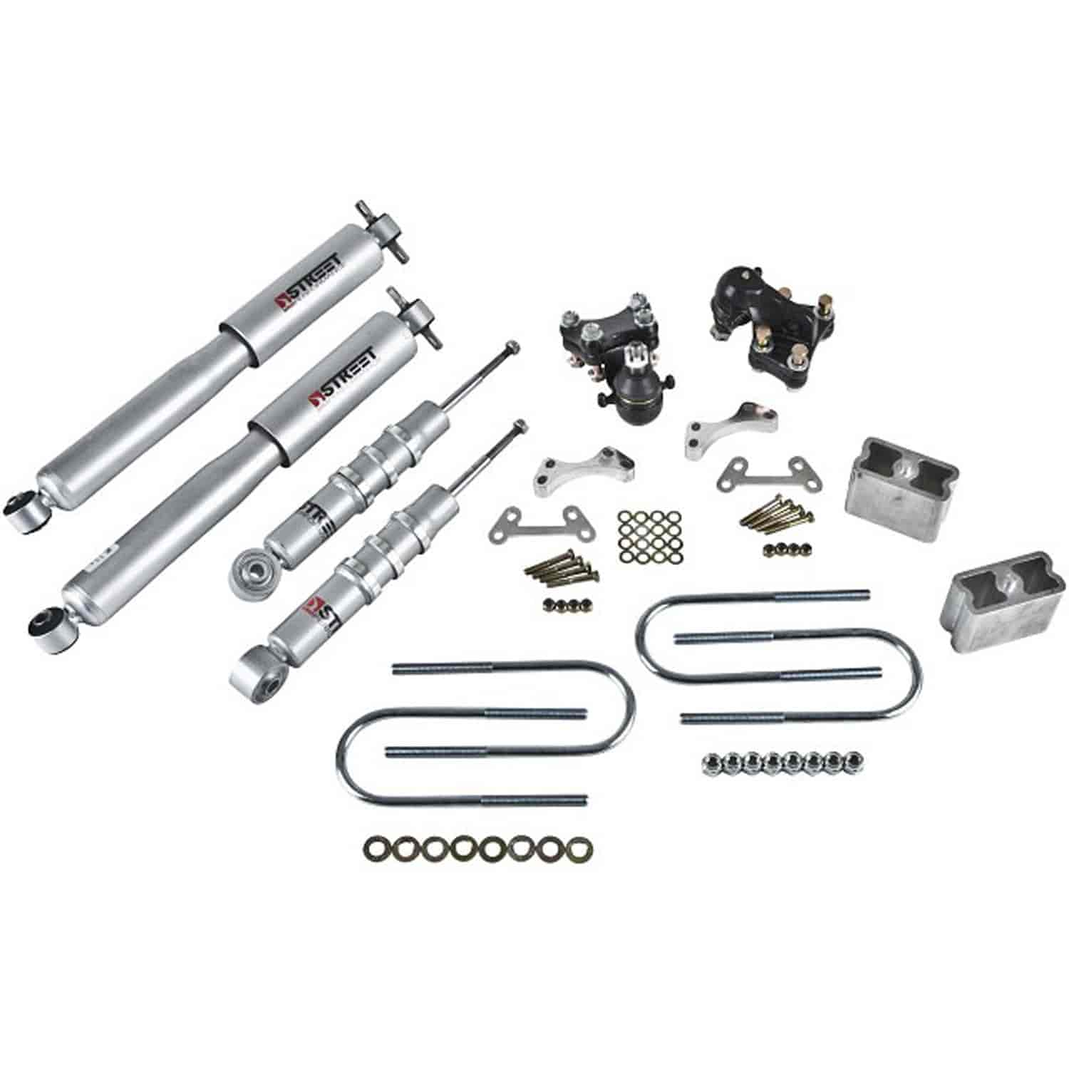 Belltech 603sp Complete Lowering Kit For Chevy