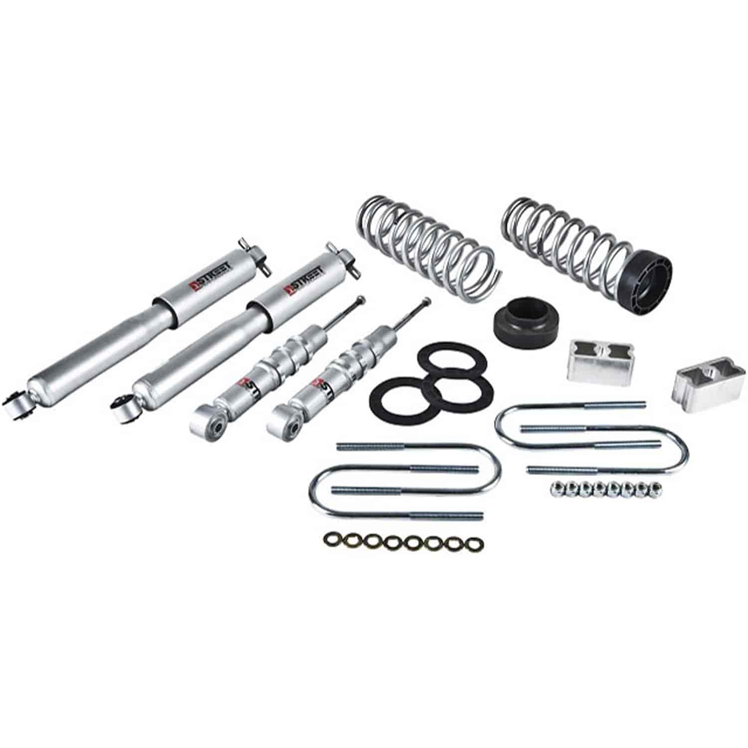 Belltech 607sp Complete Lowering Kit For Chevy