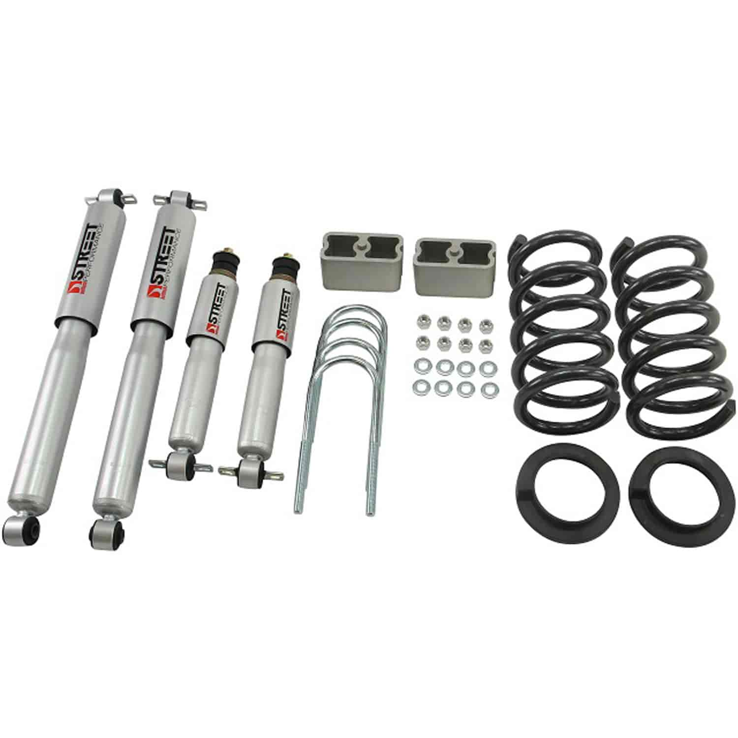 Belltech 627sp Complete Lowering Kit Chevy Blazer Gmc Jimmy 6cyl