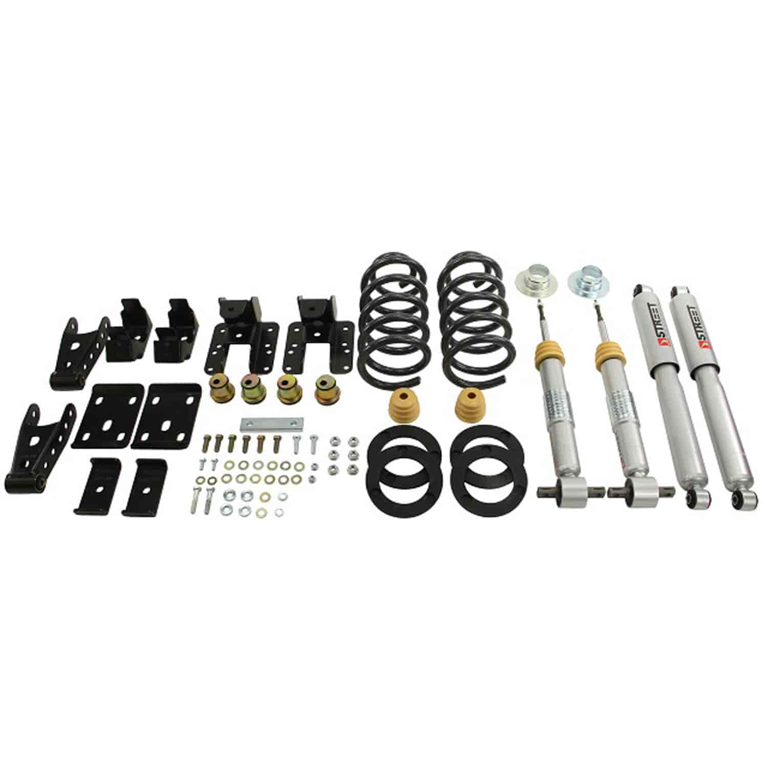 Belltech 987sp Complete Lowering Kit For Chevy