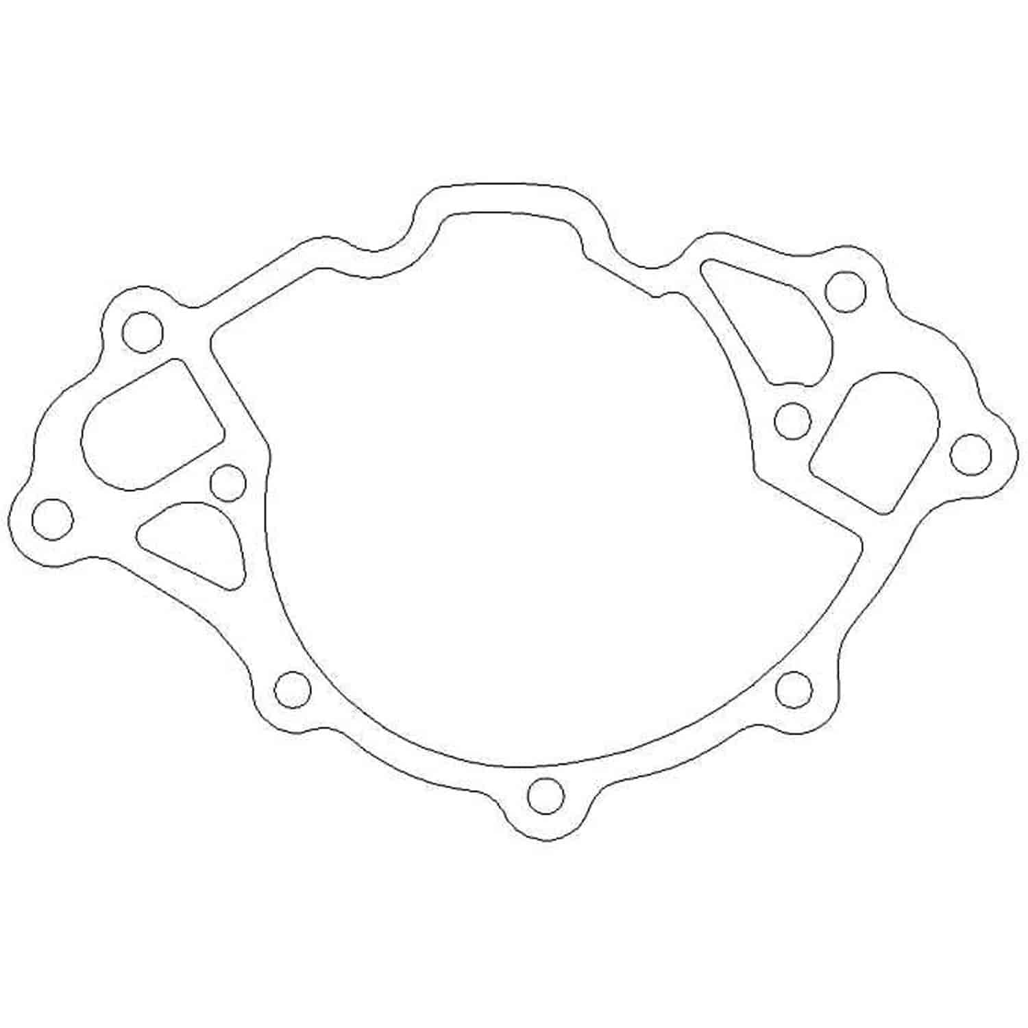 Cometic Gaskets C 018 Water Pump Gasket Ford 351w Small Block V8 018