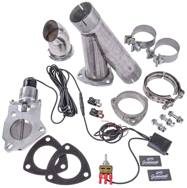 granatelli single electric exhaust cutout system