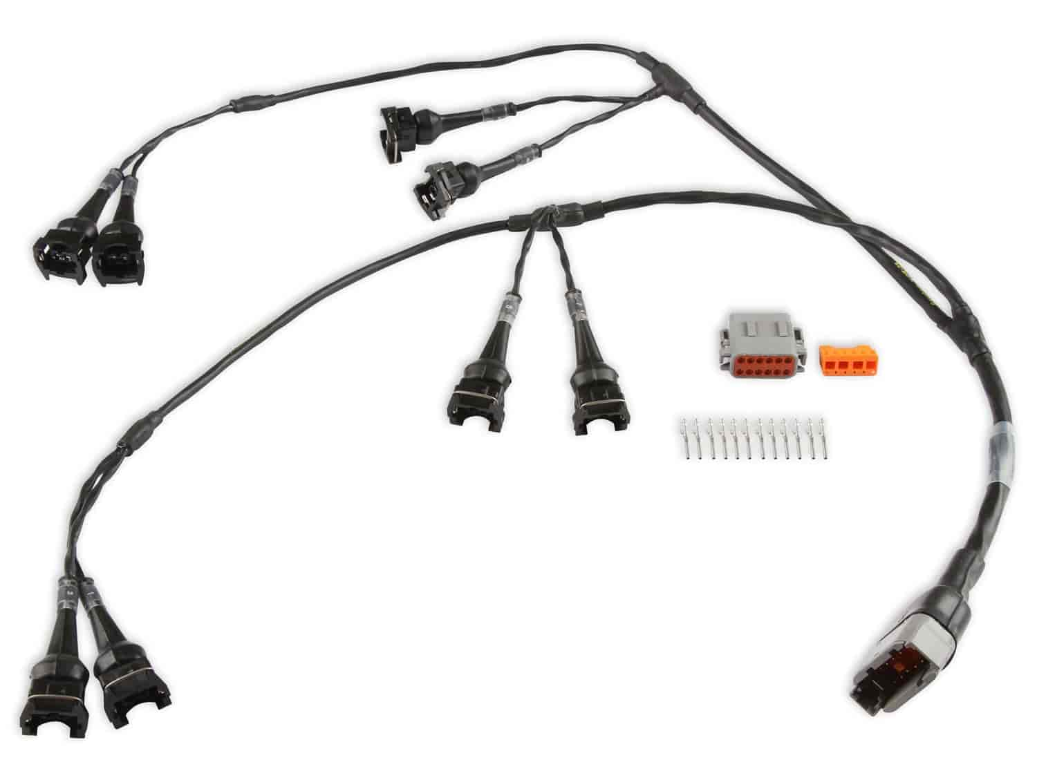 Holley 558 217 Efi Holleysport Ev1 Milspec Injector Wiring